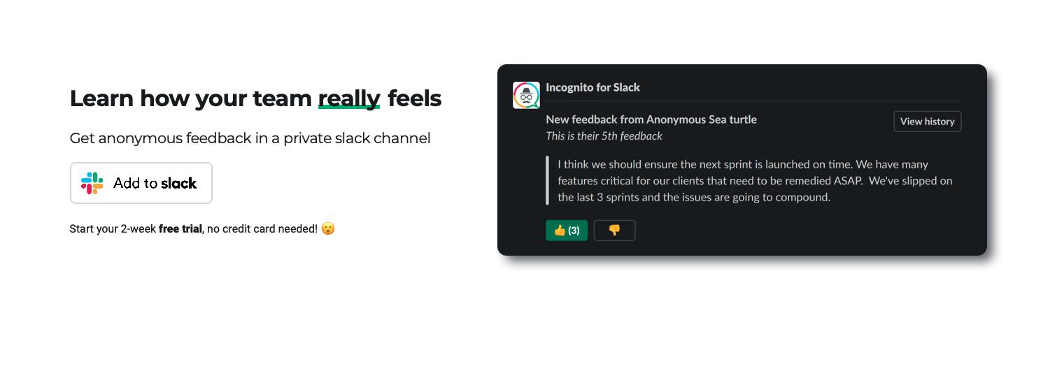 Incognito for Slack