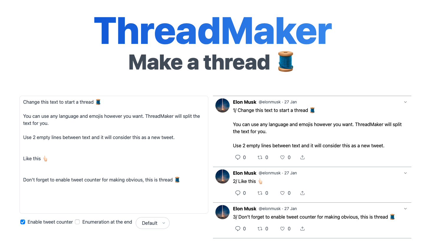 ThreadMaker