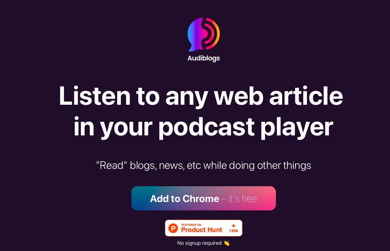 AudiBlogs