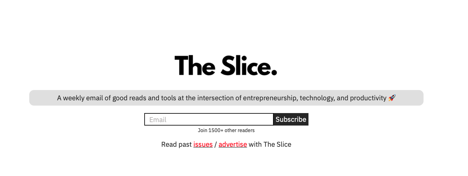 this is the landing page