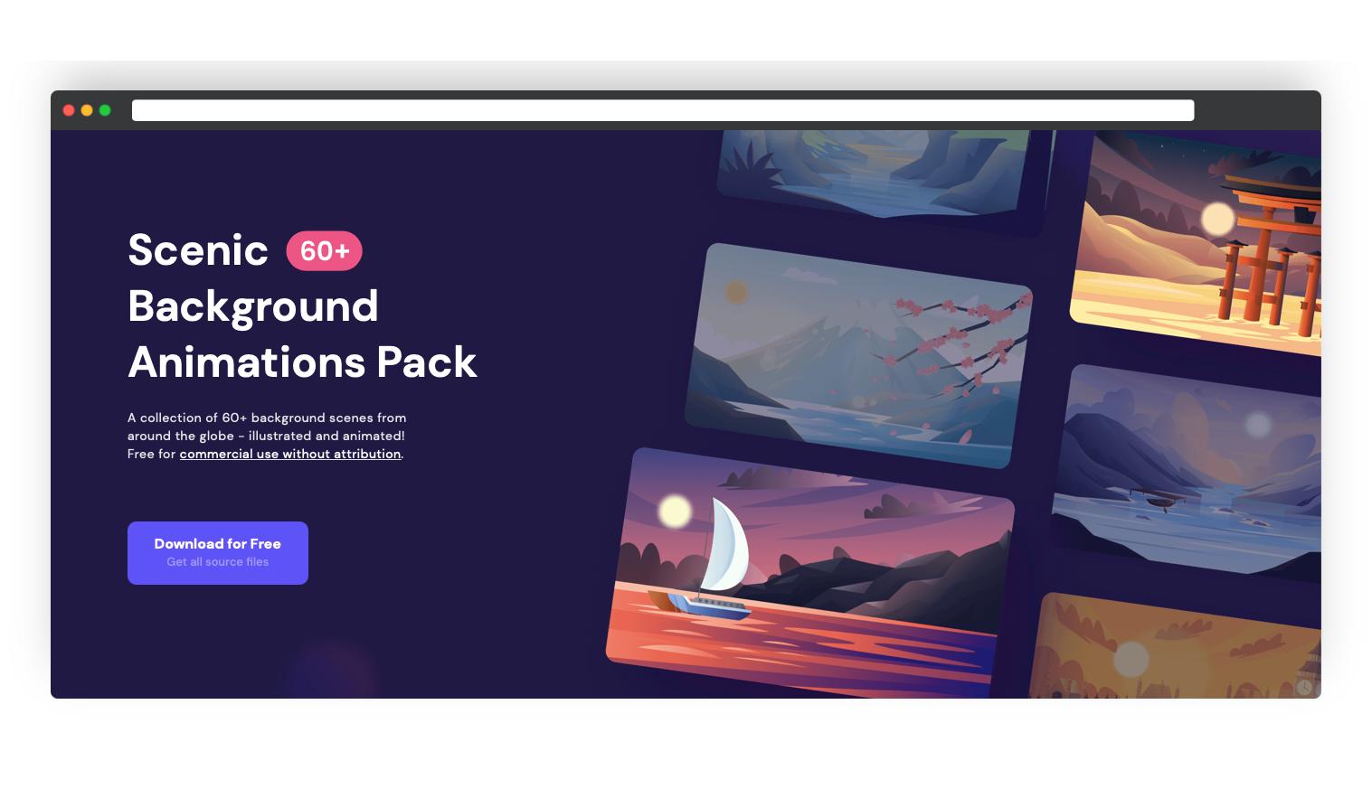 Background animation pack